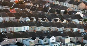 Case a terrazze britanniche Immagine Stock