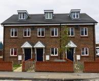 Case a terrazze recentemente sviluppate Immagine Stock