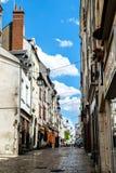 Case tipiche della città di Orleans in Francia Immagine Stock