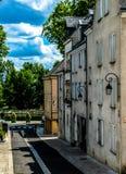 Case tipiche della città di Orleans in Francia Fotografia Stock