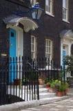 Case tipiche di inglese. Immagini Stock