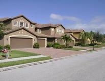 Case tipiche a Napoli Florida Fotografia Stock