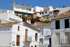 Case urbane del villaggio, Alora Fotografia Stock Libera da Diritti