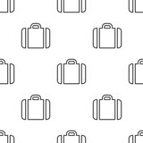 Case, vector seamless pattern Stock Image