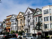 Case vittoriane, San Francisco fotografie stock libere da diritti