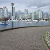 In case you forgot that Vancouver's an ocean city, just go the seawall for a refresher :-) 20161023_142048 Royalty Free Stock Images