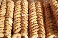 Caseiro casalingo di biscoito del biscotto Immagine Stock Libera da Diritti