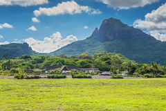 Casela Nature and Leisure park, Mauritius. Cascavelle, Mauritius - December 10, 2015: Casela Nature and Leisure park, Mauritius. Casela World of Adventures is Stock Photo