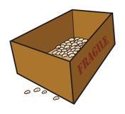 Casella illustrazione di stock