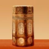 Casella antica di legno cinese Immagine Stock