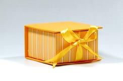 Casella arancione Immagini Stock Libere da Diritti