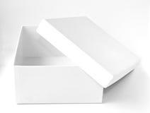 Casella bianca fotografia stock libera da diritti