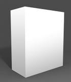 Casella bianca libera ideale Immagini Stock