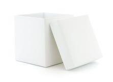 Casella in bianco immagine stock