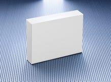 Casella in bianco del prodotto della medicina Fotografie Stock