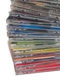 Casella CD Fotografie Stock Libere da Diritti