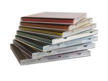 Casella CD Immagine Stock