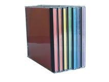 Casella CD Fotografia Stock Libera da Diritti