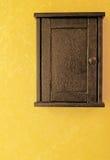 Casella chiave antica Fotografia Stock