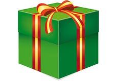 Casella con il regalo Immagini Stock Libere da Diritti
