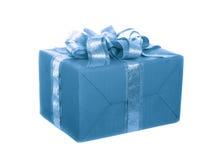 Casella con un regalo immagini stock libere da diritti