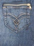 Casella dei jeans Immagini Stock Libere da Diritti