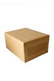 Casella del Brown Fotografia Stock