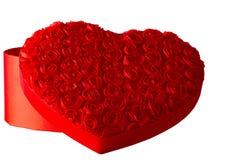 Casella del cuore della Rosa Immagine Stock Libera da Diritti
