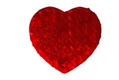 Casella del cuore della Rosa Fotografie Stock Libere da Diritti