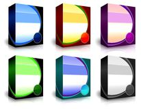 Casella del prodotto Fotografie Stock