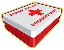 Casella del pronto soccorso Fotografie Stock