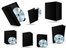 Casella del software Fotografia Stock