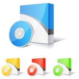 Casella del software Fotografie Stock Libere da Diritti