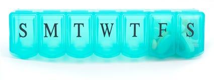Casella della pillola. Fotografia Stock Libera da Diritti
