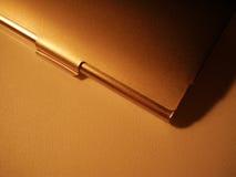 Casella della visualizzare-scheda del metallo fotografia stock libera da diritti