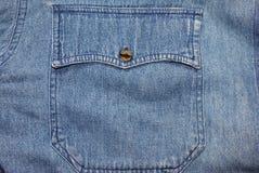 Casella delle blue jeans Illustrazione Vettoriale