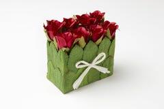 Casella delle rose fotografia stock