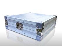 Casella di alluminio Immagini Stock Libere da Diritti