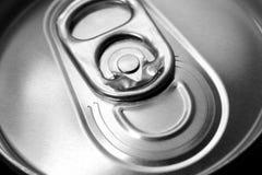 Casella di alluminio Immagine Stock Libera da Diritti
