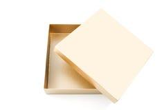 Casella di carta Fotografia Stock