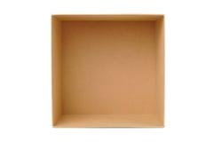 Casella di carta per impaccare Immagine Stock Libera da Diritti