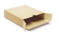 Casella di carta vuota immagini stock libere da diritti