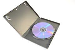 Casella di Dvd Fotografia Stock
