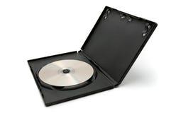 Casella di Dvd con il disco Fotografia Stock