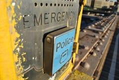 Casella di emergenza fotografia stock