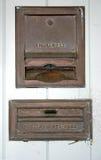 Casella di goccia di pagamento Fotografia Stock
