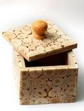 Casella di legno Fotografia Stock