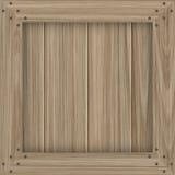 Casella di legno Fotografie Stock