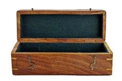 Casella di legno. fotografia stock