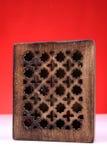 Casella di legno perfezionamento fotografie stock libere da diritti